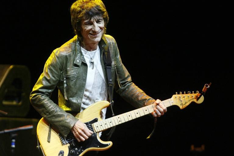 Ronnie Wood, dos Rolling Stones, diz que enfrentou câncer durante a pandemia