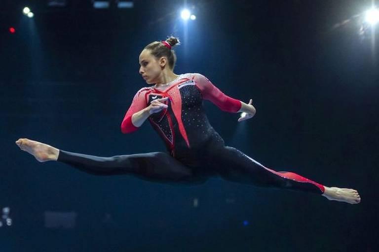Sarah Voss disse esperar que outras ginastas sigam o exemplo da sua equipe