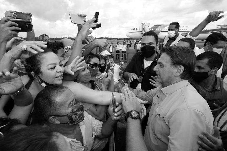 (Belém - PA, 23/04/2021) Cerimônia de entrega de cestas de alimentos da iniciativa Brasil Fraterno.Foto: Alan Santos/Divulgação Presidência
