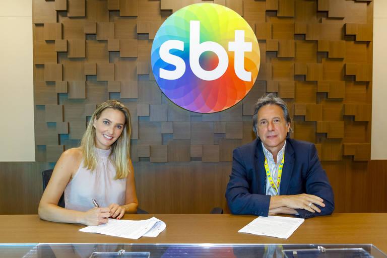 Nadine Basttos no SBT