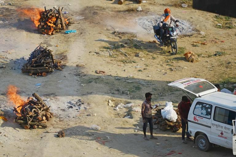 Cenas da pandemia na Índia