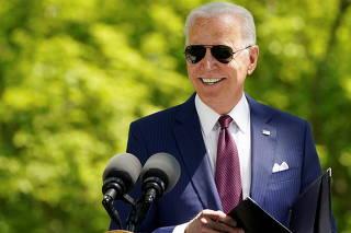 U.S. President Biden speaks about administration's coronavirus response at the White House in Washington