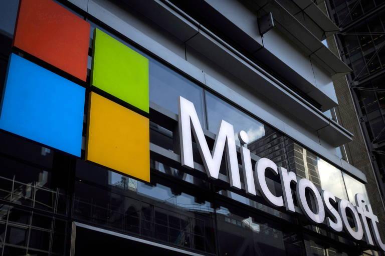 Vendas da Microsoft crescem em serviços de nuvem e demanda por PCs