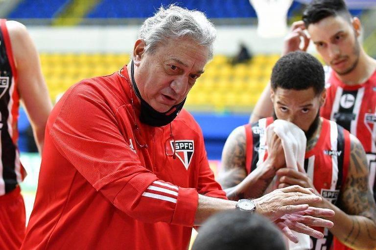 Claudio Mortari, técnico de basquete do São Paulo
