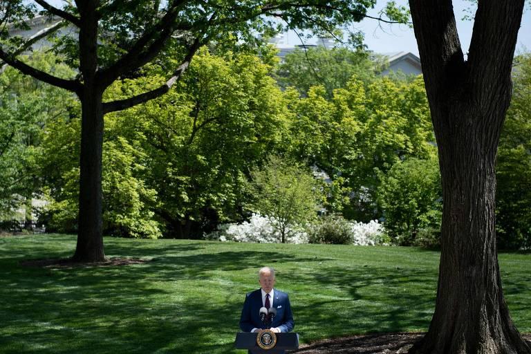 O presidente dos EUA, Joe Biden, fala sobre atualização de orientação do CDC sobre máscaras