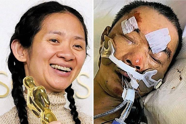 Enquanto Zhao ganhava Oscar, Yao Pan Ma era espancado em NY