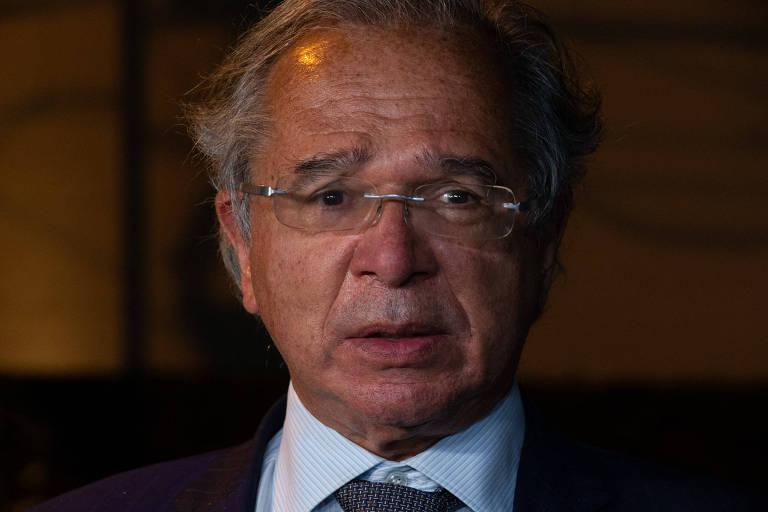 Paulo Guedes, ministro da da Economia; equipe não vê espaço para novo corte em despesas obrigatórias