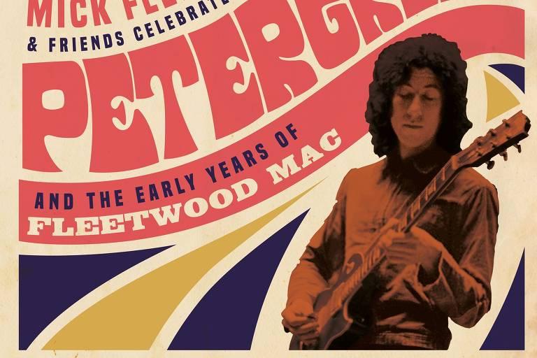 capa de disco com estética dos anos 1970