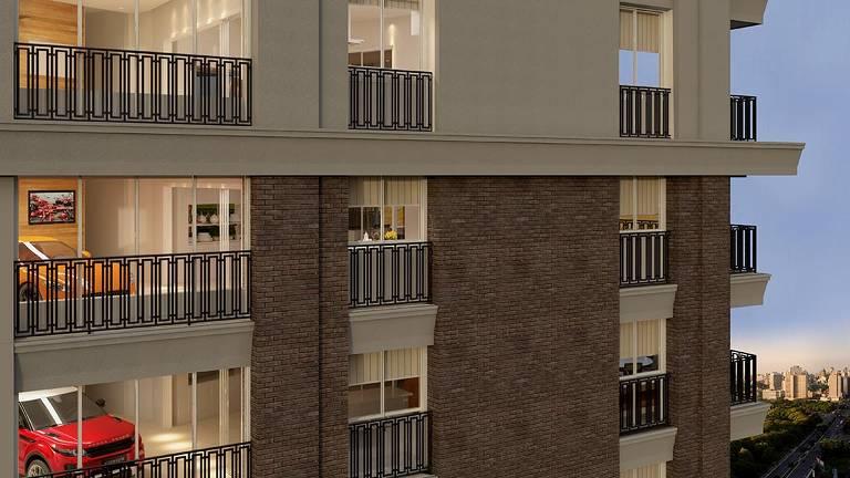 Prédio em Goiânia com vaga para carro dentro de apartamento