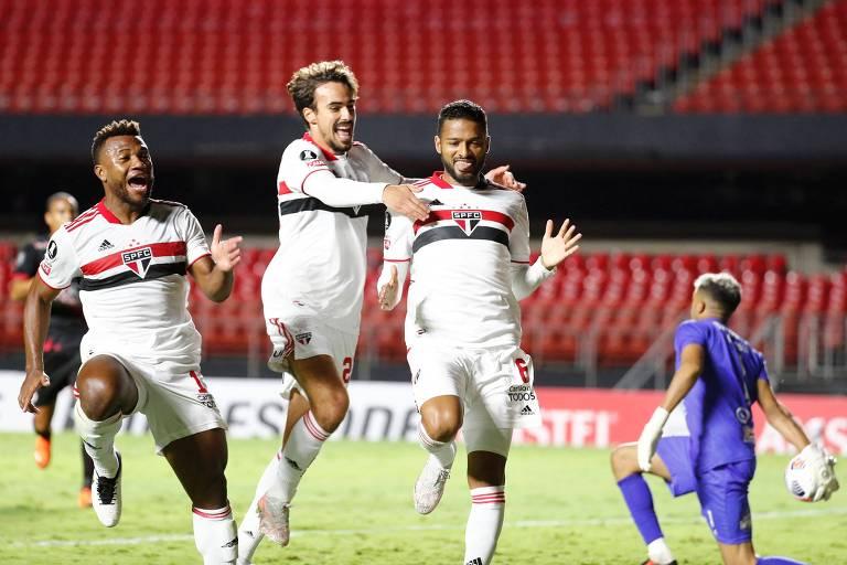 São Paulo vence o Rentistas e se mantém 100% na Libertadores