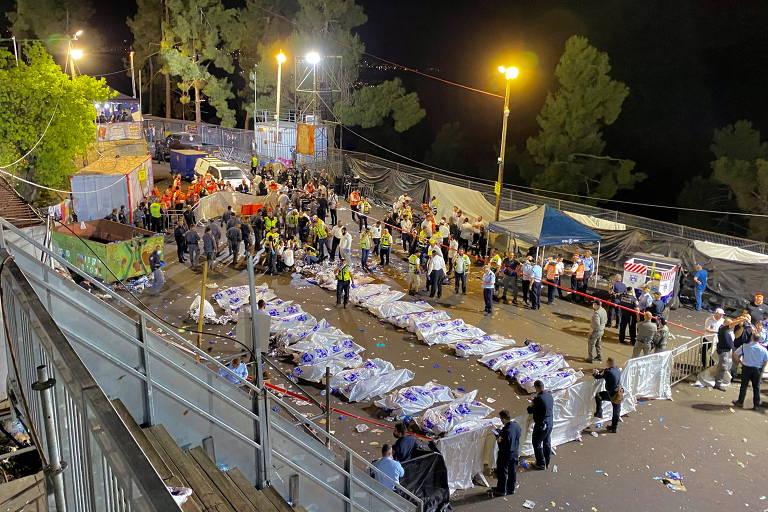 Eu poderia ser um dos mortos, diz brasileiro que escapou de tragédia em evento religioso em Israel
