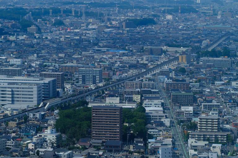 A cidade de Hamamatsu, uma das nove bases do COB no Japão para os Jogos Olímpicos