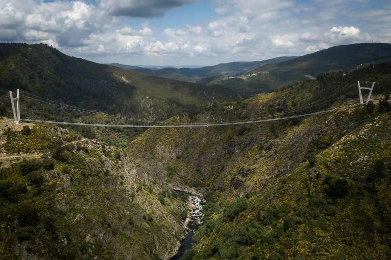 Portugal inaugura a maior passarela suspensa do mundo