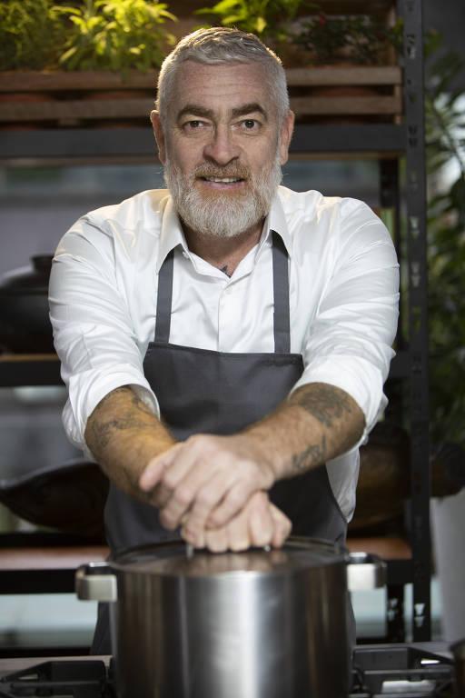 Chef Alex Atala, que lançou curso EAD com a Curseira