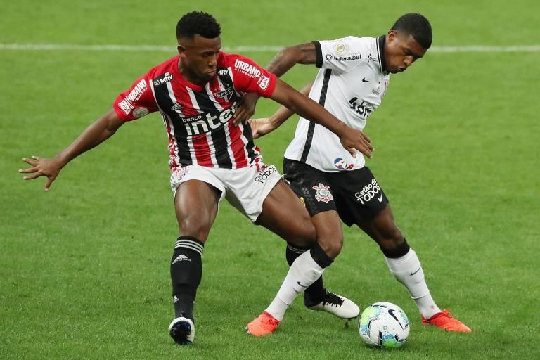 Pressionado Corinthians e embalado São Paulo duelam pelo Paulista em Itaquera