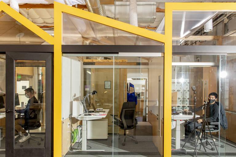 Google começa a testar modelos para o escritório do futuro