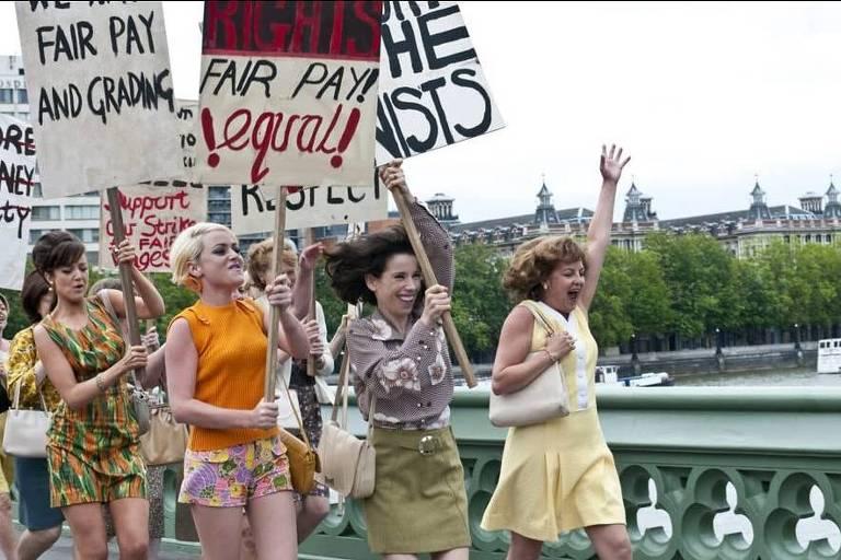 """Cena do filme """"Revolução em Dagenham"""""""