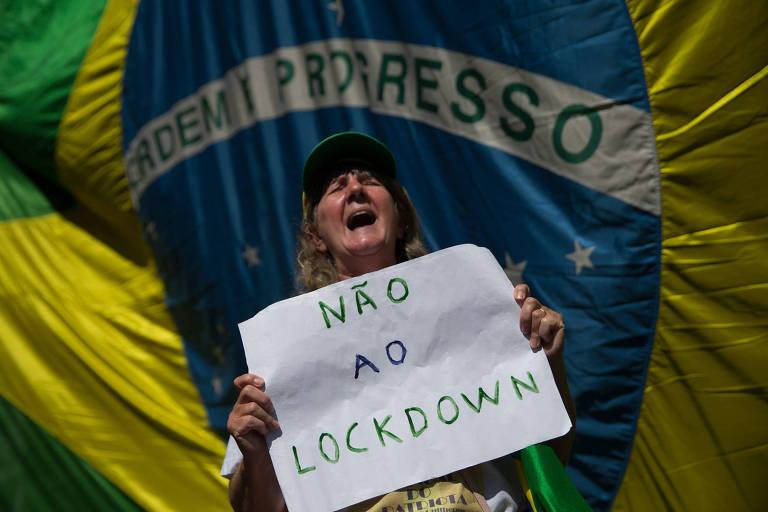 Dia do Trabalhador tem protestos pró-Bolsonaro e contra lockdowns, lives e homenagens a vítimas de Covid-19