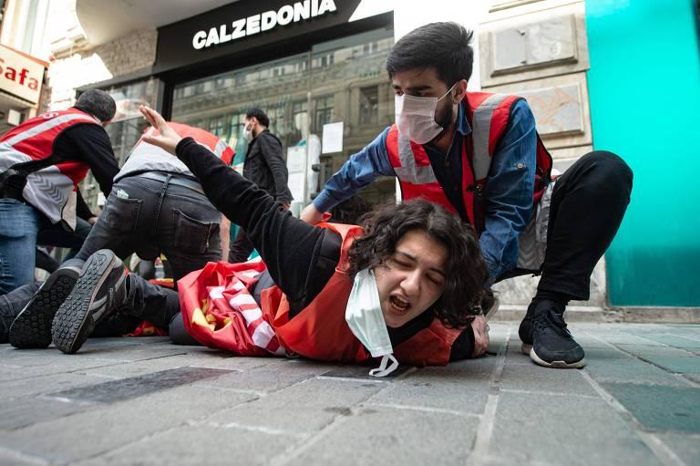Manifestações de 1º de maio pelo mundo