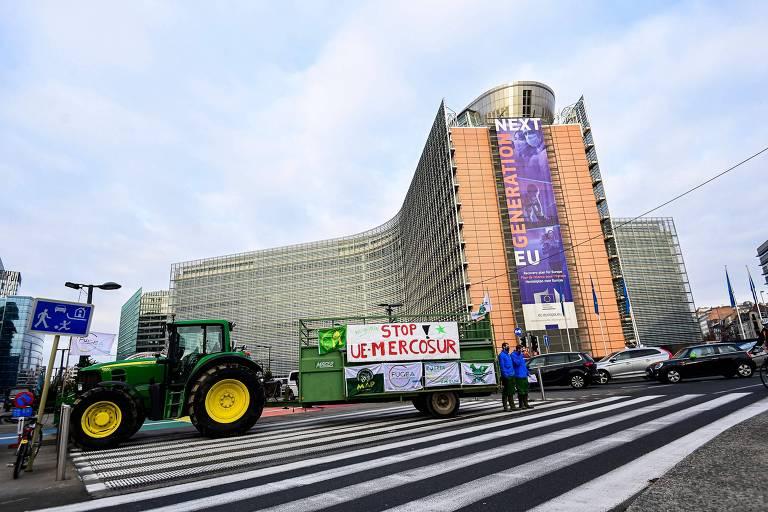 Acordo União Europeia-Mercosul vira espantalho e está paralisado, dizem legisladores