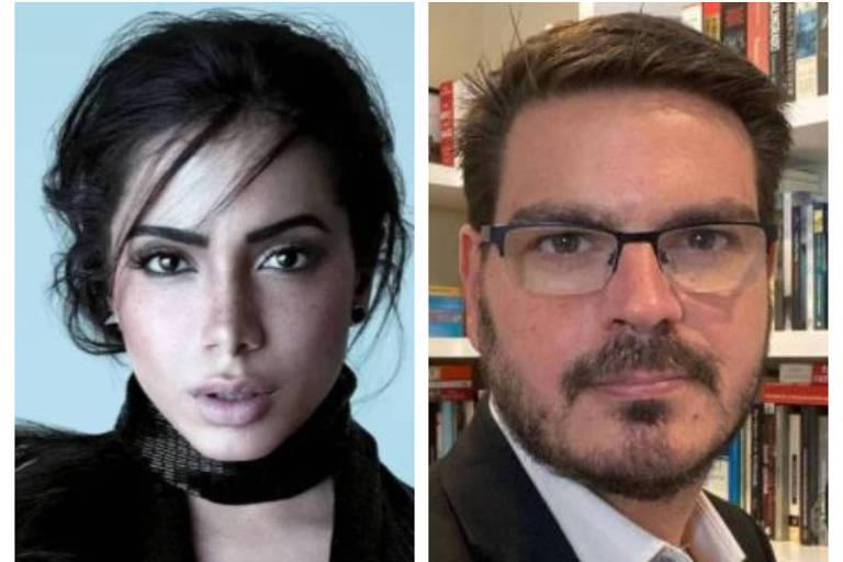 Anitta está sendo processada por Rodrigo Constantino