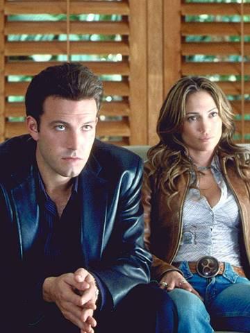 ORG XMIT: 550701_1.tif Os atores Jennifer Lopez e Ben Affleck em cena do filme