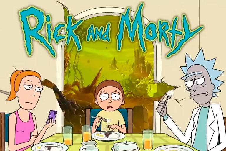 Nova temporada de 'Rick and Morty' estreia em junho