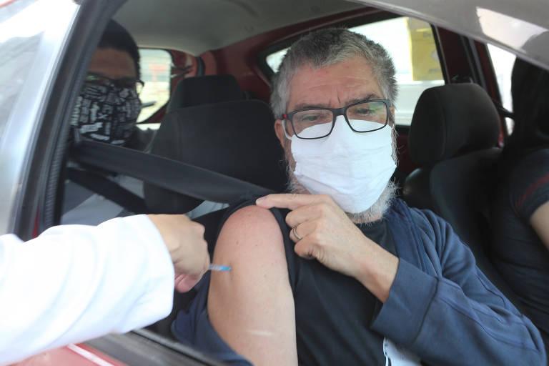 Santo André vacina contra a Covid pessoas entre 60 e 62 anos