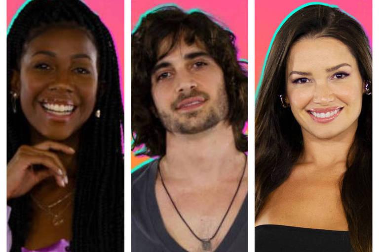 Camilla, Fiuk e Juliette são finalistas do BBB