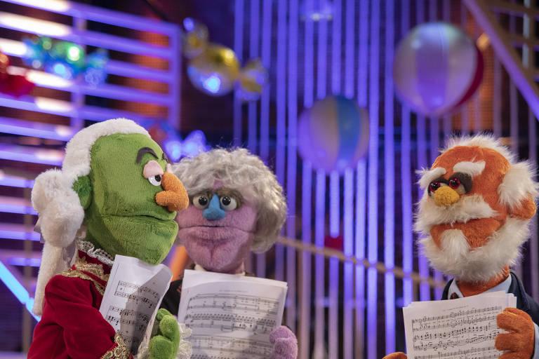 Imagens do programa 'O Piano Mágico da Ju'