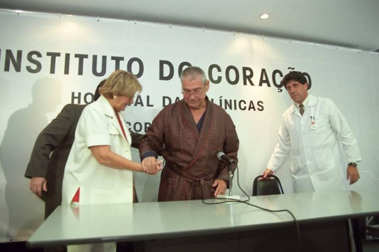 Há 20 anos, avô de Bruno Covas redefiniu cobertura política até na hora da morte