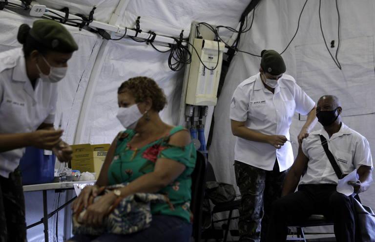 Vacinação no Rio de Janeiro