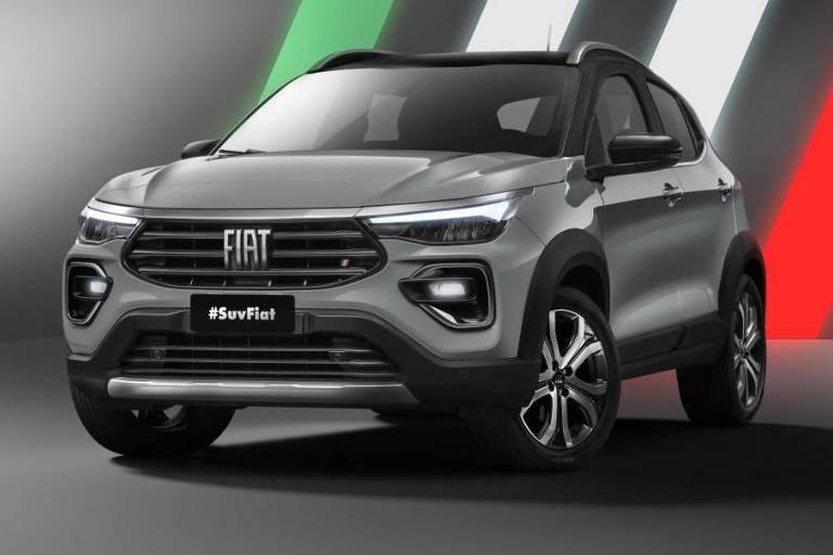 Fiat  mostra SUV que será prêmio do BBB