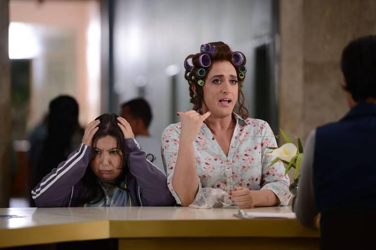 """Em """"Minha Mãe é Uma Peça"""", de 2013, Paulo Gustavo levou aos cinemas, pela primeira vez, a história de Dona Hermínia e sua família"""