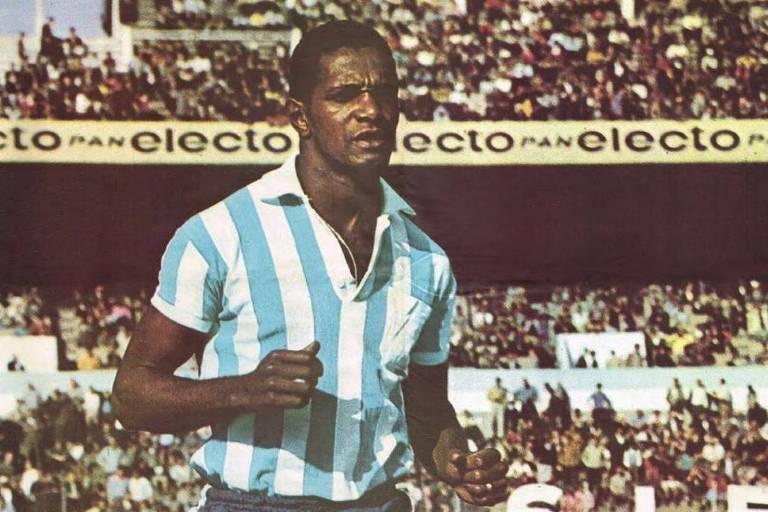 Walter Machado da Silva marcou 14 gols no Metropolitano de 1969, pelo Racing