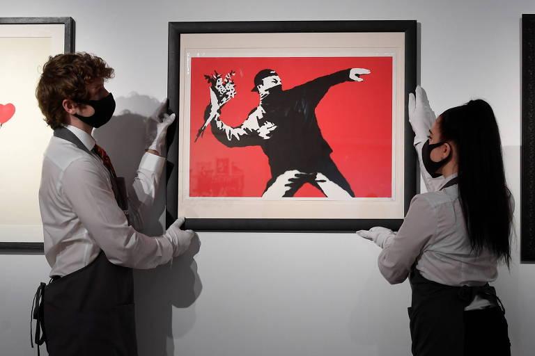 Maior casa de leilões do mundo, Sotheby's aceitará criptomoeda para obra de Banksy