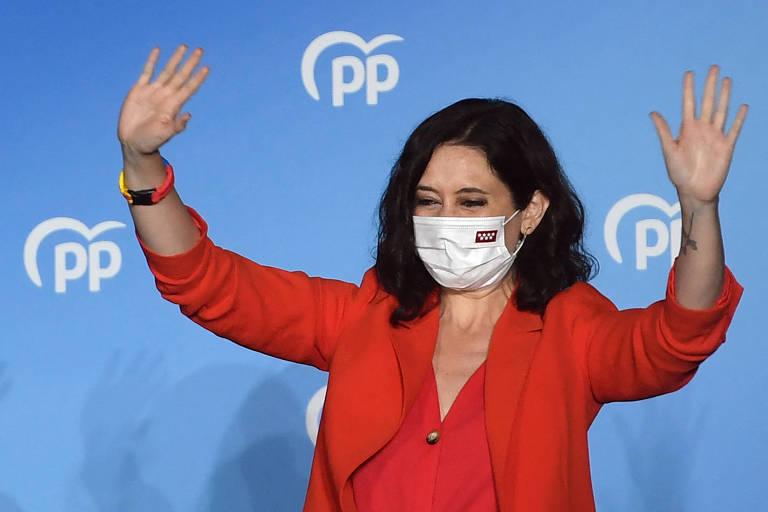 Ataque a lockdown pavimenta reeleição de governadora de Madri