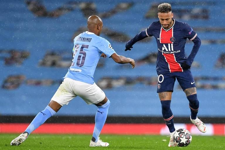 Caneladas do Vitão: Fernandinho anula Neymar e Manchester City é finalista!