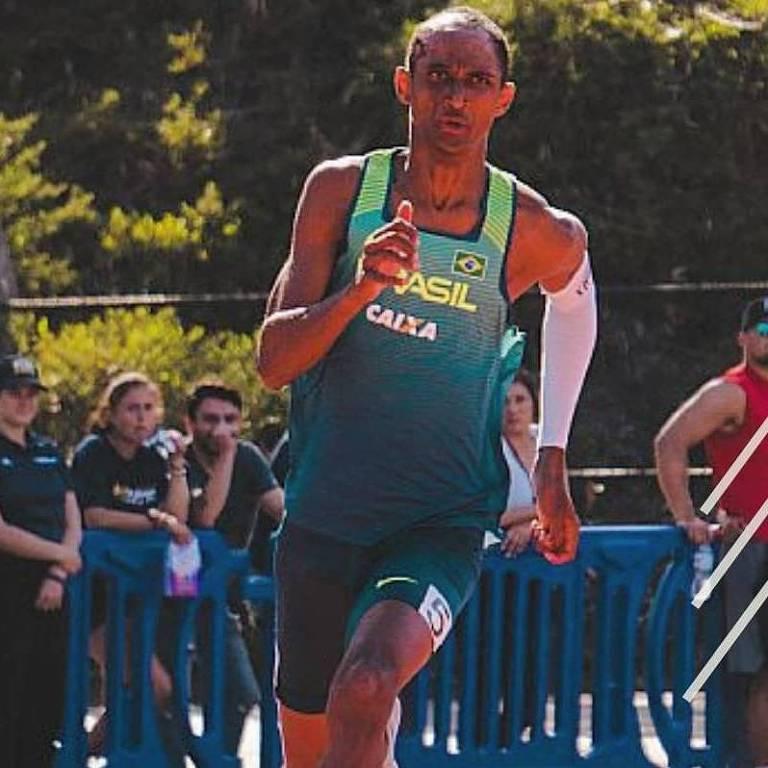 O velocista Alison dos Santos, o Pio, é uma das esperanças do Brasil na Olimpíada de Tóquio, na prova de 400 m com barreiras