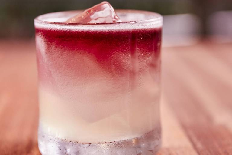 O drinque Central Smash, do bar Térreo Bar