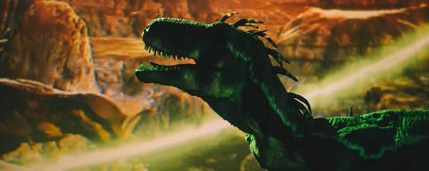 Os dinossauros e as outras criaturas funcionam por meio de dispositivos eletrônicos e técnicas de manipulação