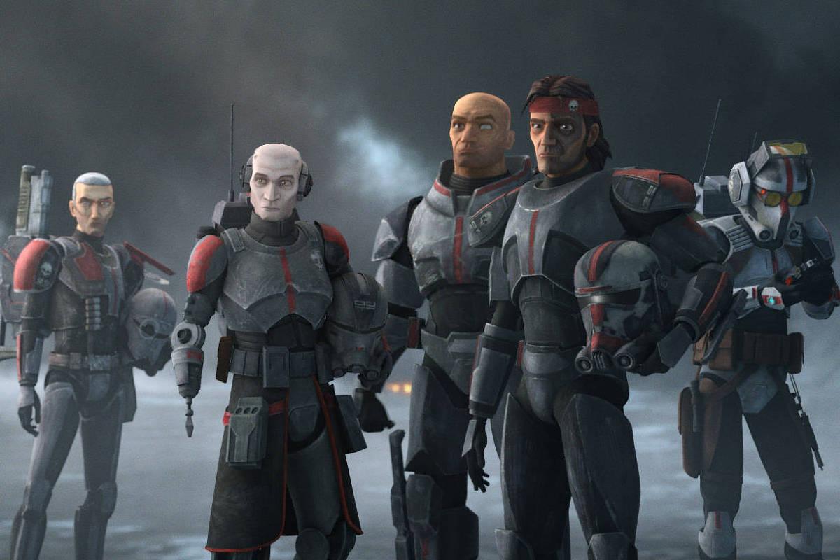 'Star Wars: The Bad Batch', novo derivado da franquia, é uma série em animação