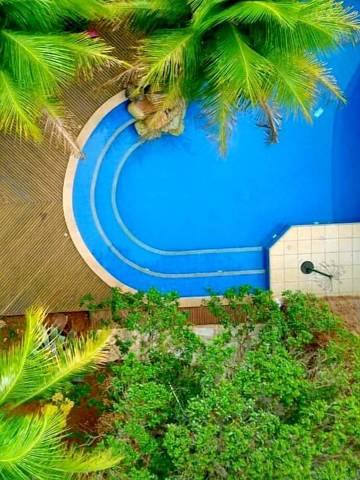 Piscina em Brasília disponível para aluguel pelo site Dovizin