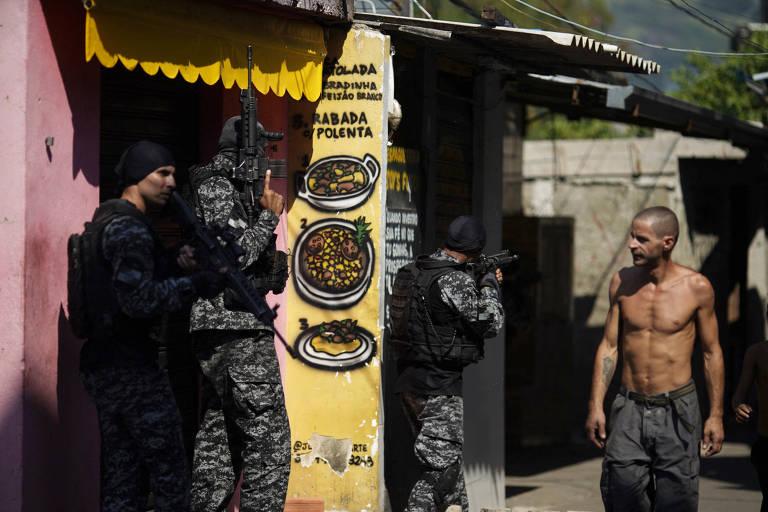Operação policial no Jacarezinho, no Rio