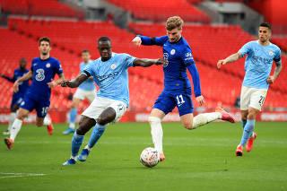 FA Cup Semi Final - Chelsea v Manchester City