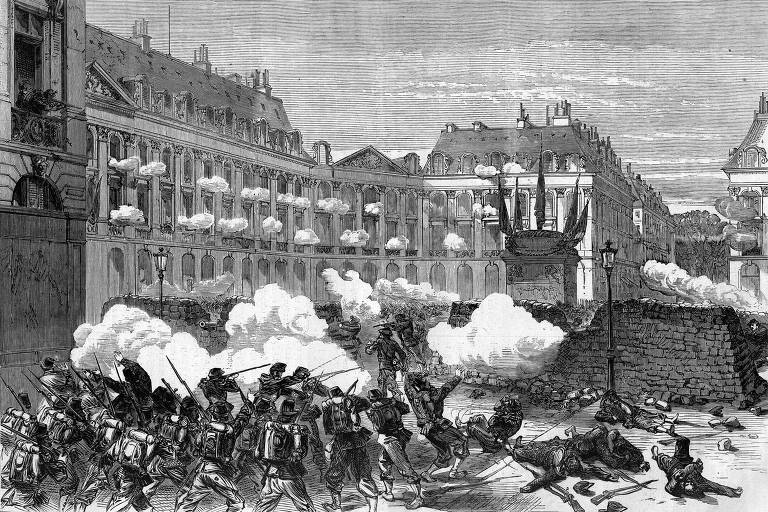 Comuna de Paris, ocorrida há 150 anos, muda de sentido a cada efeméride