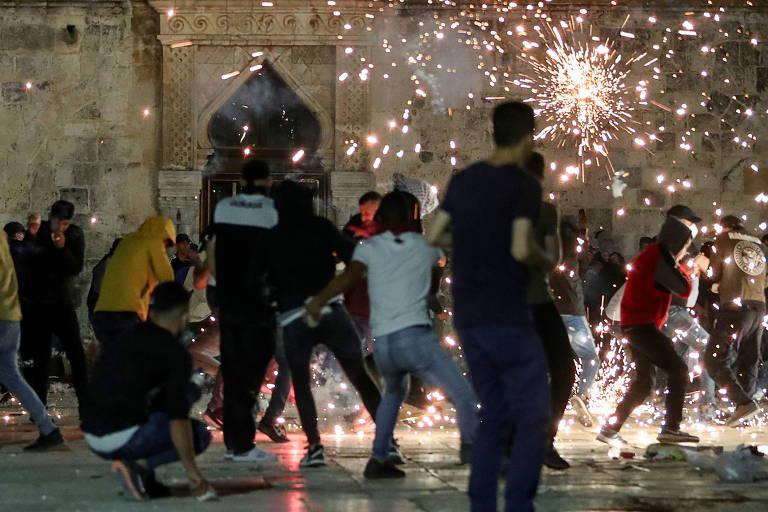 Confronto em Jerusalém após protestos com milhares de pessoas deixa 184 feridos