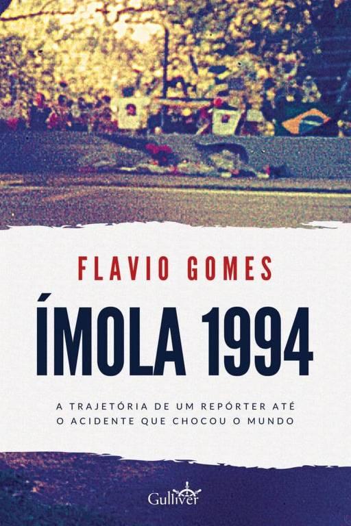 Capa do livro Ímola 1994