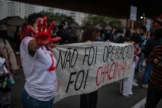 PROTESTO CONTRA MORTES NO RIO DE JANEIRO