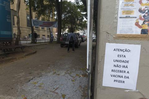 Vacina da Pfizer termina em dois dias na cidade de São Paulo